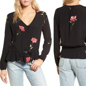 Rails Beaux Top in Blossom Print